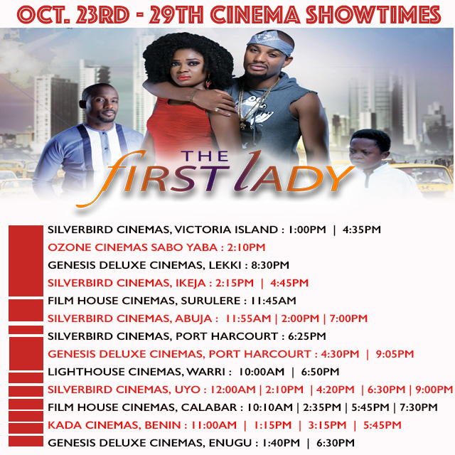 firstladyInstagramshowtimes